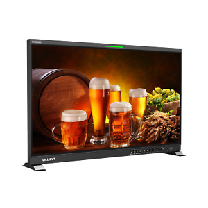"""LILLIPUT 31.5"""" Q31 12G-SDI HDMI 2.0 in&Out Broadcast monitor HDR&3D-LUT + Gold M"""
