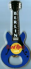 "Hard Rock Cafe BERLIN ""BLUE GRETSCH"" Guitar Bottle Opener Magnet RARE"