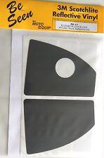 BMW R1200RT K1200GT K1300GT 49 Liter Top Case Black Reflective Vinyl Tape Kit