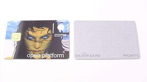 Schlüsselkarte Silvercard Smartcard Funcard Prozessorkarte Sammler -NEU-