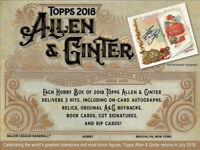2018 Topps Allen & Ginter Complete Your Set Pick 25 Cards From List