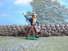 Wild West cowboy with laso 60mm painted