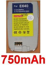 Batterie 750mAh Pour SAMSUNG SGH-E640 SGH-E648 Gris/Silver