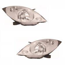 For Chevrolet Spark 2009 Headlights Headlamps Chrome 1 Pair O/S & N/s