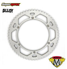 Supersprox Rear Alloy Sprocket for Maico 250 400 440 490 (1969-89) - Silver 56T