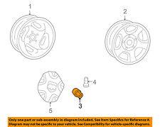 MITSUBISHI OEM 06-08 Raider Wheel-Lug Nut 06036433AA