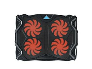 Tenswall 13''-17'' Laptop Cooling Pad with 3 Ultra-Quiet Red  LED Fans