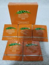Avon Elements Skin Revitalize NIGHT RADIANCE CREAM 5 Samples Box .04 oz/1.1g New