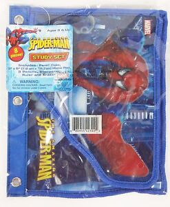 HGMarvel's The Amazing Spiderman 8 Pieces Stationery School Study Set