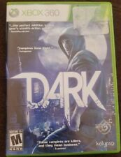 Dark (XBOX 360) Video Game And Manual Complete And Tested Vampire Video Game