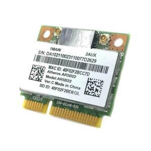 AR5B22 Half Mini PCIe 300Mbps+Bluetooth4.0 WLAN Wifi M2X3 Card Wireless V8G3