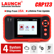 LAUNCH X431 CRP123 OBD2 Scanner ABS Airbag Transmission Engine Code Reader