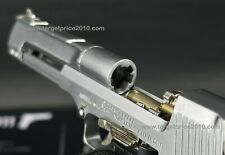 Min Model (High Precision) Desert Eagle Silver With Extra 8 Dummy Bullets