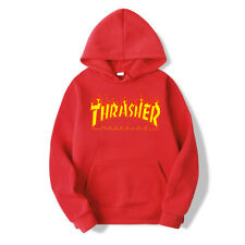 Men Women Hoodie Sweater Hip-hop Skateboard Thrasher Sweatshirts Pullover Coat