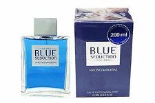 Blue Seduction by Antonio Banderas 6.8oz/200ml Eau de Toilette Spray for Men NIB