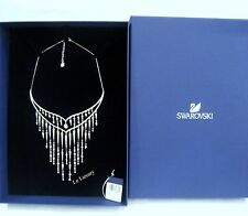 Swarovski Flame Necklace, Clear Crystal Authentic MIB 5230684