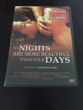 MY NIGHTS ARE MORE BEAUTIFUL THAN YOUR DAYS DVD AUTHENTIC MADE IN USA VERSION