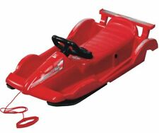 Snow Racer Red Sledge Toboggan
