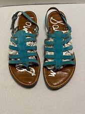 Sam Edelman Sandals Size 9M/39 Garland Boho Retro Casual Dress