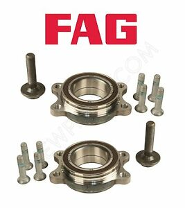 For Audi A4 A5 A6 Quattro Allroad S6 S8 Pair Set of 2 Front Wheel Bearing Kits