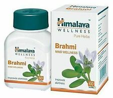 5x60tab Himalaya Herbal Brahmi Tablets Improve alertness 300tab Long Expiry FS&P