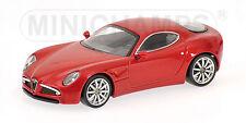 Alfa Romeo 8C Red Metallic 1:64 Model MINICHAMPS