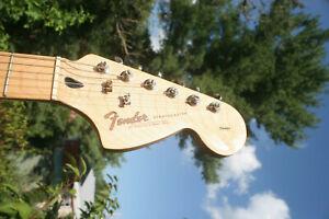 1990 Squier Standard Stratocaster - HSS - Purple - Dimarzio Super Distortion