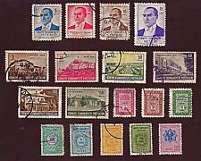 TURKEY 18 1960-69 ATATURK, ANKARA, OFFICIALS +Stamps, Used, See Descr   FUS766