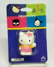 Sanrio Hello Kitty Pink Mascot Squeezies Keychain By Alpi Rare New in Package