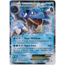 BLASTOISE EX 17/83 Ultra Rare Pokemon Holo Foil Star Pokemon Card XY Generations
