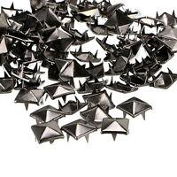DIY Metal Punk Rock Square Pyramid Spike Rivet Studs Nailhead Craft (Size:10MM)