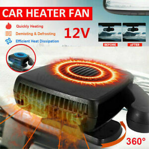 12V Car Heater Cooler Cooling Fan Car Dryer Windscreen Defroster Blower Warmer