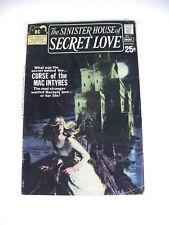 The Sinister House of Secret Love #1 OCT / NOV 1971, DC Comic Book