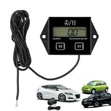 Digital RPM Tach Hour Meter Tachometer Gauge  For Motorcycle