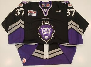 Brendan Bernakevitch Reading Royals SP Authentic Game Jersey MeiGray ECHL