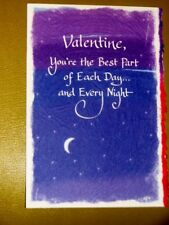 "Blue Mountain Arts Greeting Card ""Best Part of Each Day & Night"" B2GO SALE"