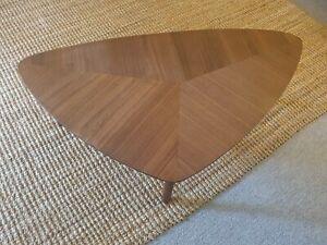 Coffee table walnut finish (new)