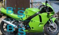 Green Fairing Bodywork Plastic Kit fit Kawasaki ZXR250 1991-1998 3 D7