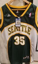 b260d719b76 adidas Seattle Supersonics Kevin Durant Jersey Rookie 35 Sewn Mens Large