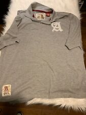 Akademiks Gray Polo Short Sleeve Men's Shirt 2XL