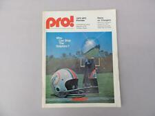 Aug 31 1973 PRO NFL LA RAMS vs San Diego Chargers AFC Preview Fouts Program