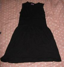 8 ans robe noire okaidi cotelé