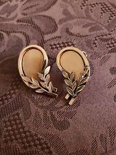 Vintage renoir matisse jewelry Earrings Copper Clip