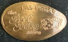 Copper! Beef Jerky Store & Dice - Las Vegas Nevada Pressed Penny