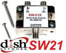 SW-21 SWITCH - DISH NETWORK MULTI-SWITCH DISHNET SW21 LNB 119 110 129 BELL 82 91