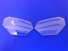 Honda CRF 1000 L 2016-2017 Headlight Protectors,CLEAR,made In The Uk,new.
