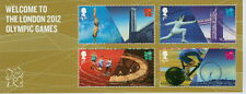 GB QEII MNH MINIATURE SHEET WELCOME TO THE OLYMPIC GAMES LONDON 2012 SG MS3341