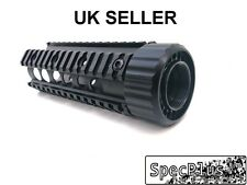 "7"" Free Floating with Cup Carbine RAS Quad Rail Handguard Aluminum Black UK"