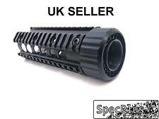 "7"" Free Floating with Cup Carbine RAS Quad Rail Handguard Aluminum Black UK"