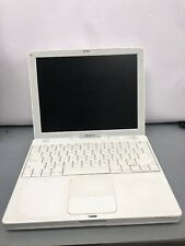 "*Apple iBook G4 12"" 1.33Ghz/CD-RW/DVD-ROM A1133/ No RAM/No HDD W/Battery"